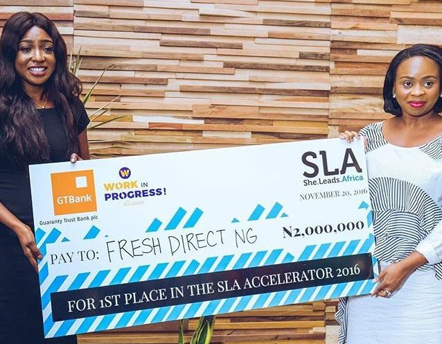 Fresh Direct is the winner of the 2016 She Leads Africa Accelerator Demo Day