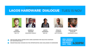 Ventures Dialogue is organising a hardware-focused meetup at Idea Hub Tomorrow