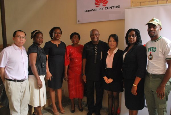 Huawei Launches ICT Center in Lagos Secondary School