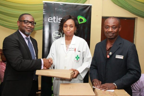 Etisalat Nigeria has donated Computers to Gbagada General Hospital