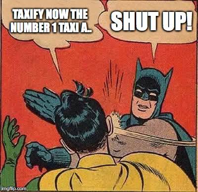 Re: Taxify vs Uber – stop being funny, please