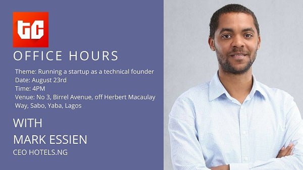 TechCabal's Office Hours, with Mark Essien: Running a startup as a technical founder