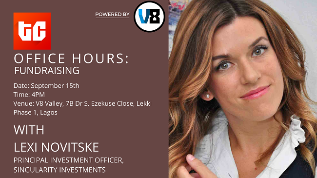 TechCabal's Office Hours, with Lexi Novitske: How to raise funds for your Nigerian startup