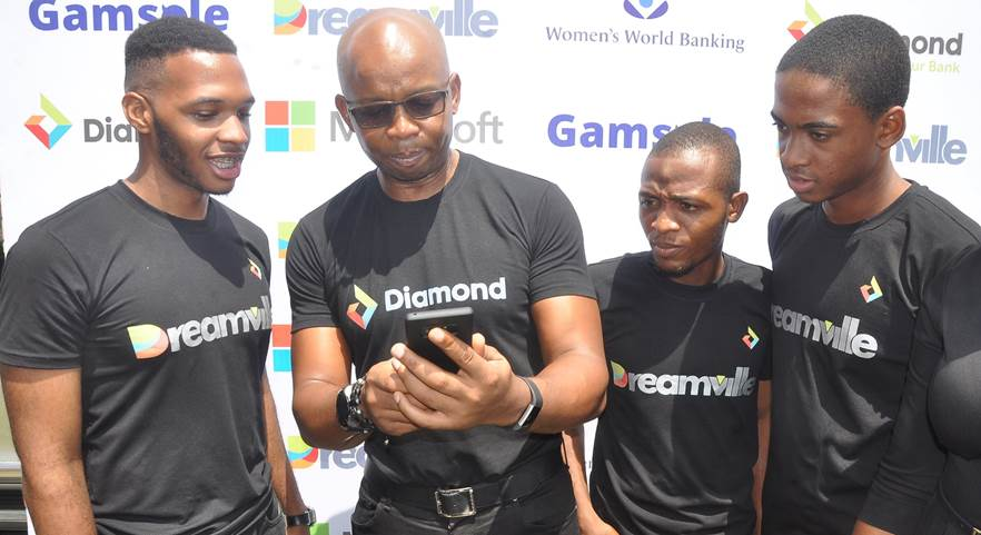 Diamond Bank Excites Youths with Gamified Digital Savings Platform